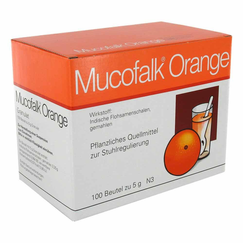 Mucofalk Orange Beutel 100 Stk Deutsche Internet Apotheke