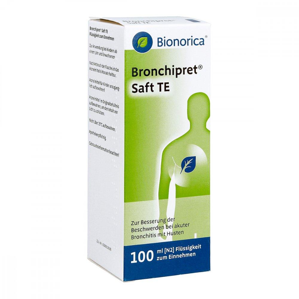 Bronchipret Saft Schwangerschaft