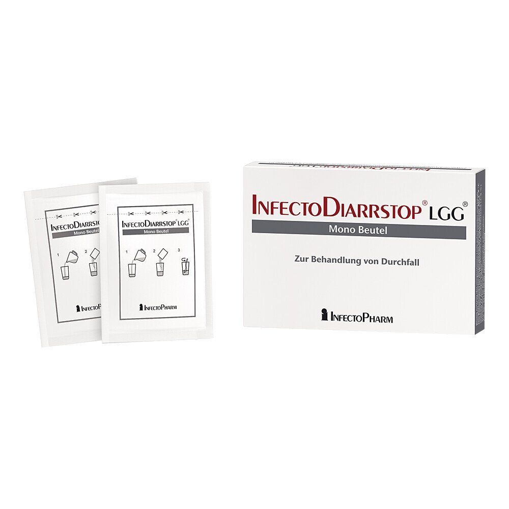 Infectodiarrstop Lgg Mono Beutel 10 Stk Deutsche Internet Apotheke