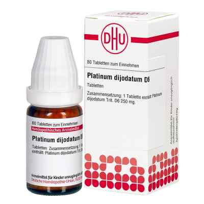 Platinum Dijodatum D 6 Tabletten  bei deutscheinternetapotheke.de bestellen