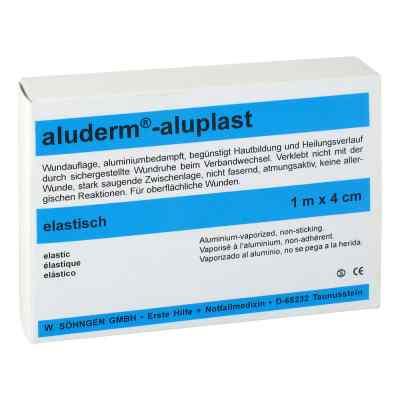 Aluderm Aluplast Wundverband pfl.1mx4cm elastisch   bei deutscheinternetapotheke.de bestellen