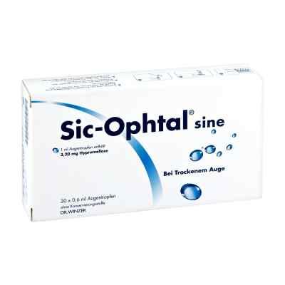 Sic Ophtal sine Augentropfen Augentropfen  bei deutscheinternetapotheke.de bestellen