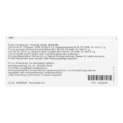 Skorodit Kreislauf Inject Ampullen  bei deutscheinternetapotheke.de bestellen