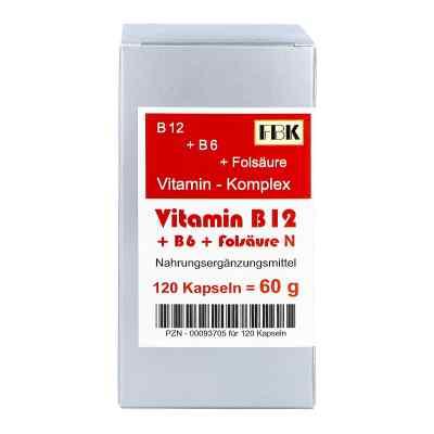 Vitamin B12 + B6 + Folsäure Komplex N Kapseln  bei deutscheinternetapotheke.de bestellen
