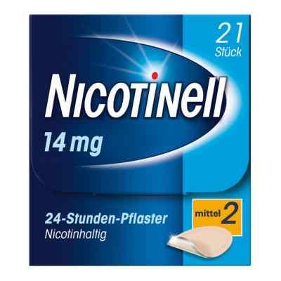 Nicotinell 14mg/24-Stunden-Nikotinpflaster, Mittel (2)  bei deutscheinternetapotheke.de bestellen