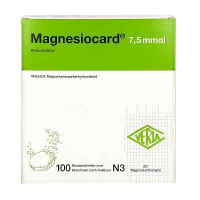 Magnesiocard 7,5 mmol Brausetabletten  bei deutscheinternetapotheke.de bestellen