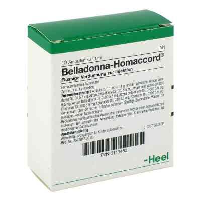 Belladonna Homaccord Ampullen  bei deutscheinternetapotheke.de bestellen