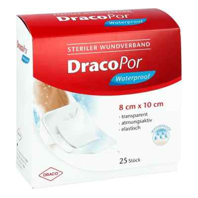Dracopor waterproof Wundverband steril 8x10cm  bei deutscheinternetapotheke.de bestellen