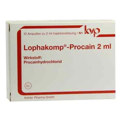 Lophakomp Procain 2 ml Injektionslösung  bei deutscheinternetapotheke.de bestellen