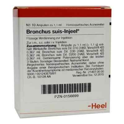 Bronchus suis Injeel Ampullen  bei deutscheinternetapotheke.de bestellen
