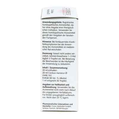 Ceres Carduus marianus Urtinktur  bei deutscheinternetapotheke.de bestellen