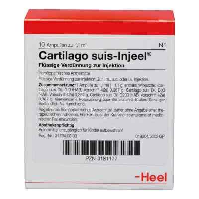 Cartilago suis Injeel Ampullen  bei deutscheinternetapotheke.de bestellen