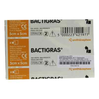Bactigras Paraffingaze 5x5cm  bei deutscheinternetapotheke.de bestellen