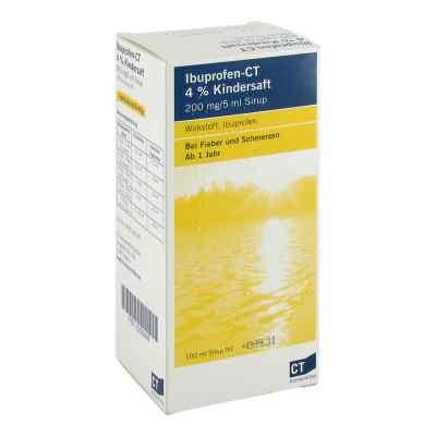 Ibuprofen-CT 4% Kindersaft  bei deutscheinternetapotheke.de bestellen