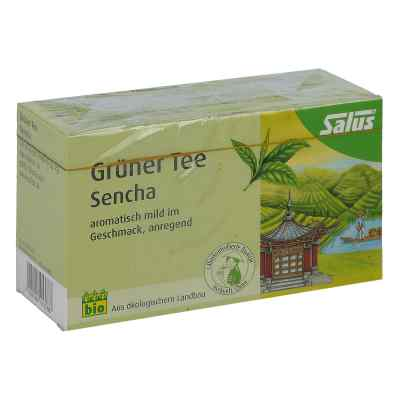 Grüner Tee bio Salus Filterbeutel  bei deutscheinternetapotheke.de bestellen