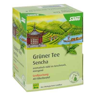 Grüner Tee bio Salus Filterbeutel Grosspackung  bei deutscheinternetapotheke.de bestellen