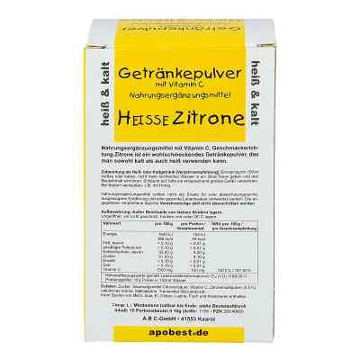 Heisse Zitrone Getränkepulver mit Vitamin C  bei deutscheinternetapotheke.de bestellen