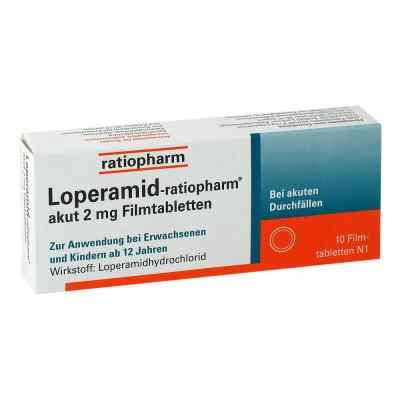 Loperamid-ratiopharm akut 2mg  bei deutscheinternetapotheke.de bestellen