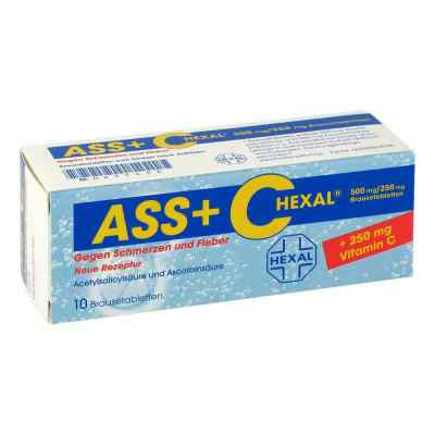 ASS+C HEXAL gegen Schmerzen und Fieber  bei deutscheinternetapotheke.de bestellen