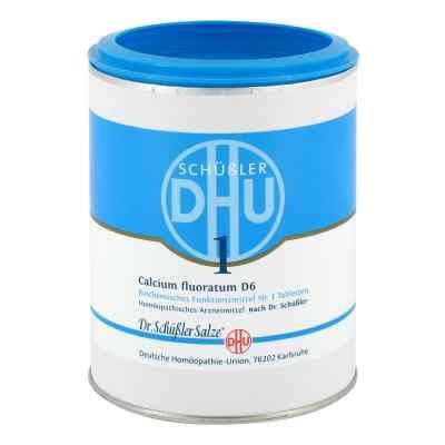 Biochemie Dhu 1 Calcium fluorat.D 6 Tabletten  bei deutscheinternetapotheke.de bestellen
