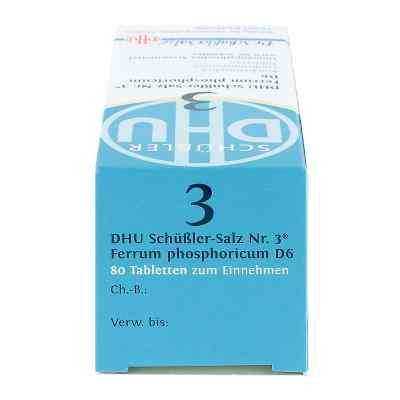 Biochemie Dhu 3 Ferrum Phosphoricum D6 Tabletten  bei deutscheinternetapotheke.de bestellen