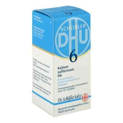 Biochemie Dhu 6 Kalium Sulfur D  6 Tabletten  bei deutscheinternetapotheke.de bestellen