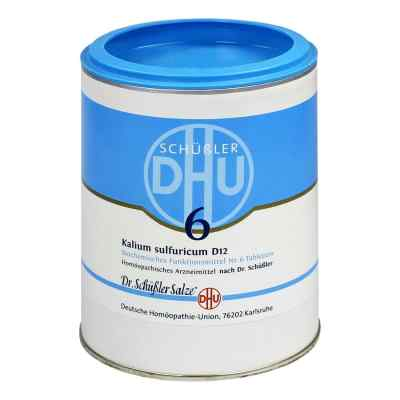 Biochemie Dhu 6 Kalium Sulfur D12 Tabletten  bei deutscheinternetapotheke.de bestellen