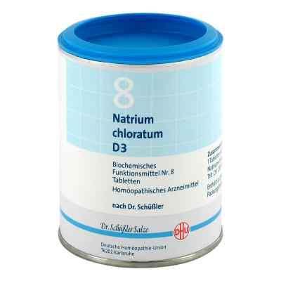 Biochemie Dhu 8 Natrium chlor. D3 Tabletten  bei deutscheinternetapotheke.de bestellen