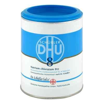 Biochemie Dhu 8 Natrium chlor. D12 Tabletten  bei deutscheinternetapotheke.de bestellen