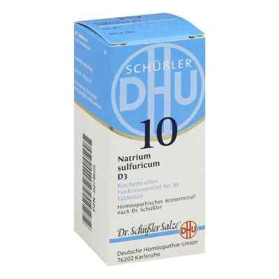 Biochemie Dhu 10 Natrium Sulfur D3 Tabletten  bei deutscheinternetapotheke.de bestellen
