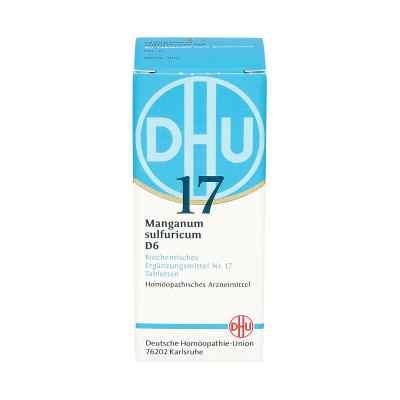 Biochemie Dhu 17 Manganum sulfuricum D6 Tabletten  bei deutscheinternetapotheke.de bestellen