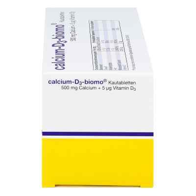 Calcium D3 biomo Kautabletten 500+d  bei deutscheinternetapotheke.de bestellen