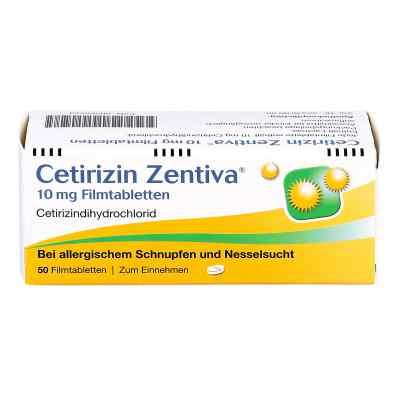 Cetirizin Zentiva 10mg  bei deutscheinternetapotheke.de bestellen