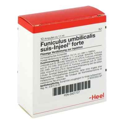 Funiculus Umbilicalis suis Injeel forte Ampullen  bei deutscheinternetapotheke.de bestellen