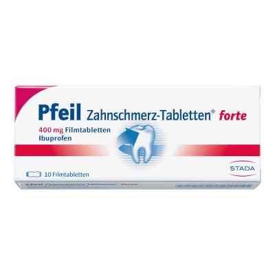 Pfeil Zahnschmerz-Tabletten forte 400mg  bei deutscheinternetapotheke.de bestellen