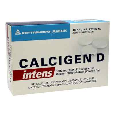 CALCIGEN D intens 1000mg/880 internationale Einheiten  bei deutscheinternetapotheke.de bestellen
