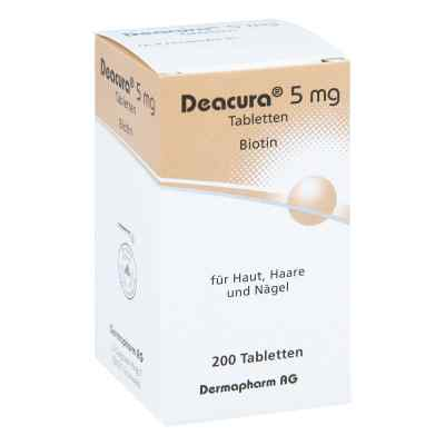 Deacura 5 mg Tabletten  bei deutscheinternetapotheke.de bestellen