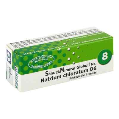 Schuckmineral Globuli 8 Natrium chloratum D6  bei deutscheinternetapotheke.de bestellen