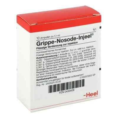 Grippe Nosode Injeel Ampullen  bei deutscheinternetapotheke.de bestellen