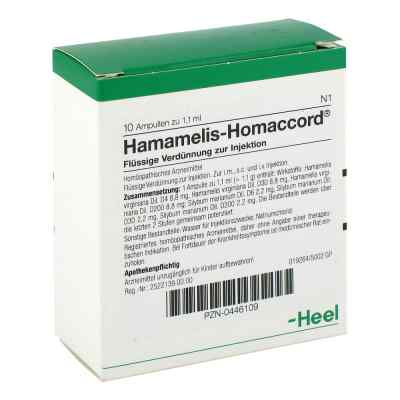 Hamamelis Homaccord Ampullen  bei deutscheinternetapotheke.de bestellen