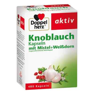 Doppelherz aktiv Knoblauch mit Mistel+Weißdorn  bei deutscheinternetapotheke.de bestellen