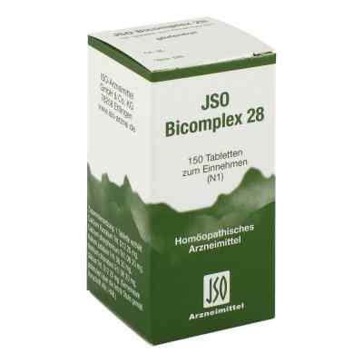 Jso Bicomplex Heilmittel Nummer  28  bei deutscheinternetapotheke.de bestellen