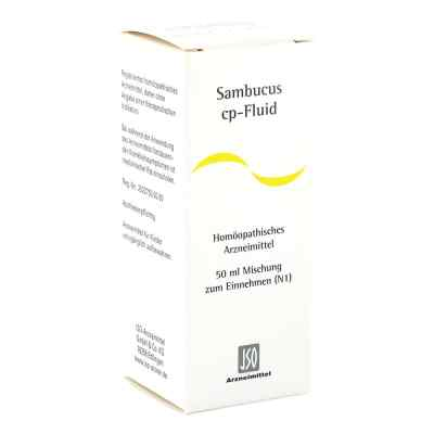 Sambucus Cp Fluid Lösung  bei deutscheinternetapotheke.de bestellen
