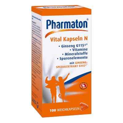 Pharmaton Vital Kapseln N  bei deutscheinternetapotheke.de bestellen