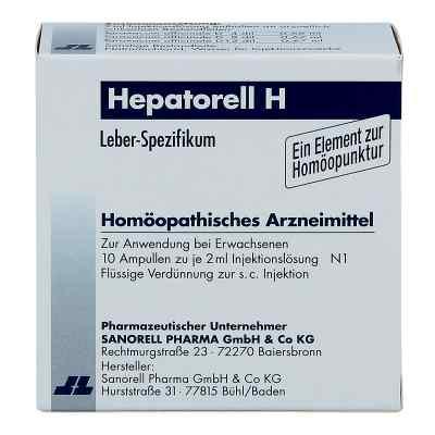 Hepatorell H Ampullen  bei deutscheinternetapotheke.de bestellen