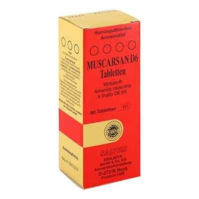 Muscarsan D6 Tabletten  bei deutscheinternetapotheke.de bestellen