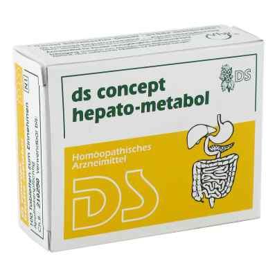 Ds Concept Hepato Metabol Tabletten  bei deutscheinternetapotheke.de bestellen