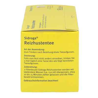 SIDROGA Reizhustentee  bei deutscheinternetapotheke.de bestellen