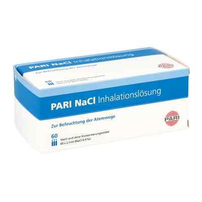 Pari Nacl Inhalationslösung Ampullen  bei deutscheinternetapotheke.de bestellen
