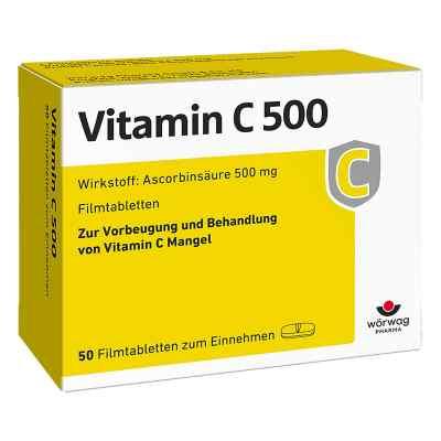 Vitamin C 500 Filmtabletten  bei deutscheinternetapotheke.de bestellen